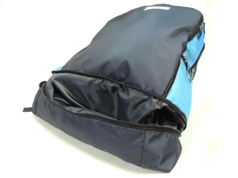 Большой спортивный рюкзак с отделением под обувь