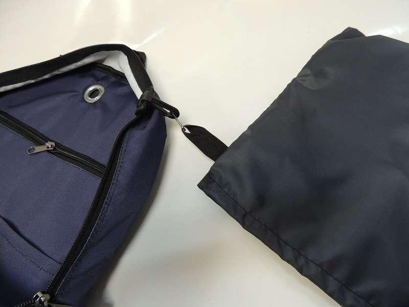 Большой спортивный рюкзак синий