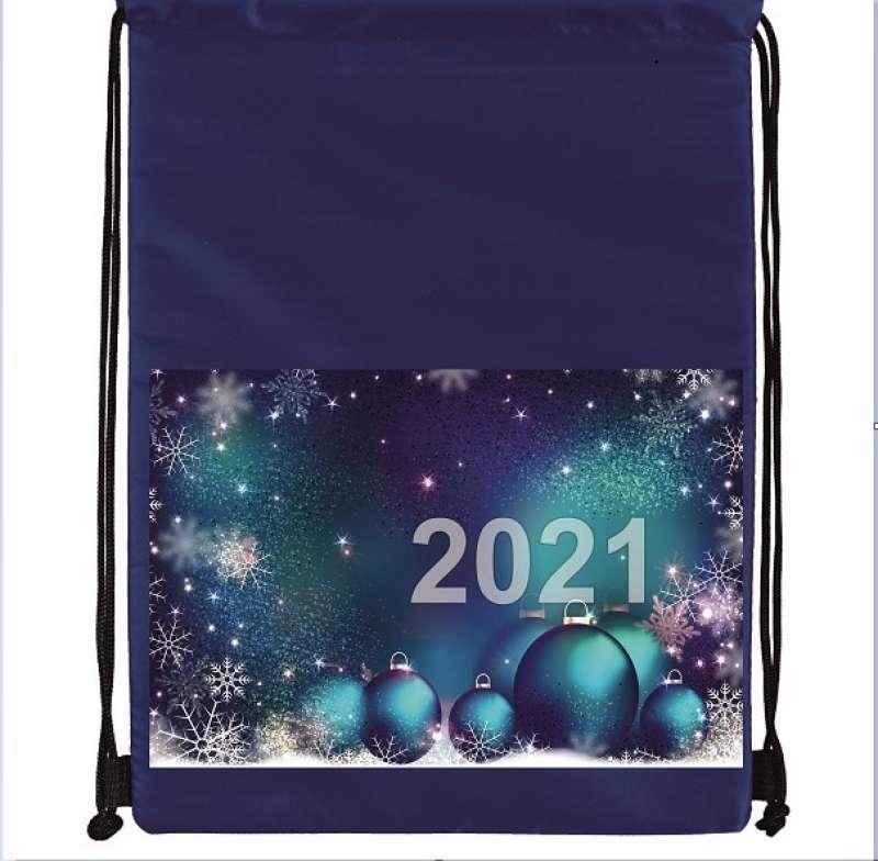 Новогодний мешок  30х38 см.