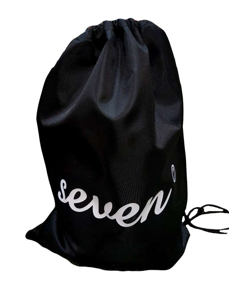 Мешок под обувь 30х45 см. чёрный