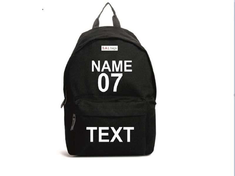 Именной спортивный  рюкзак