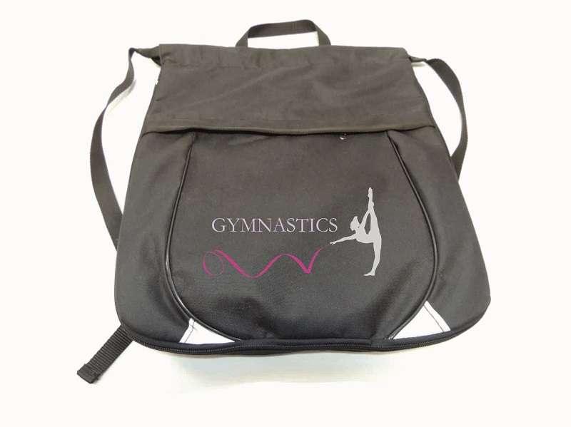 Рюкзак для гимнастики чёрный