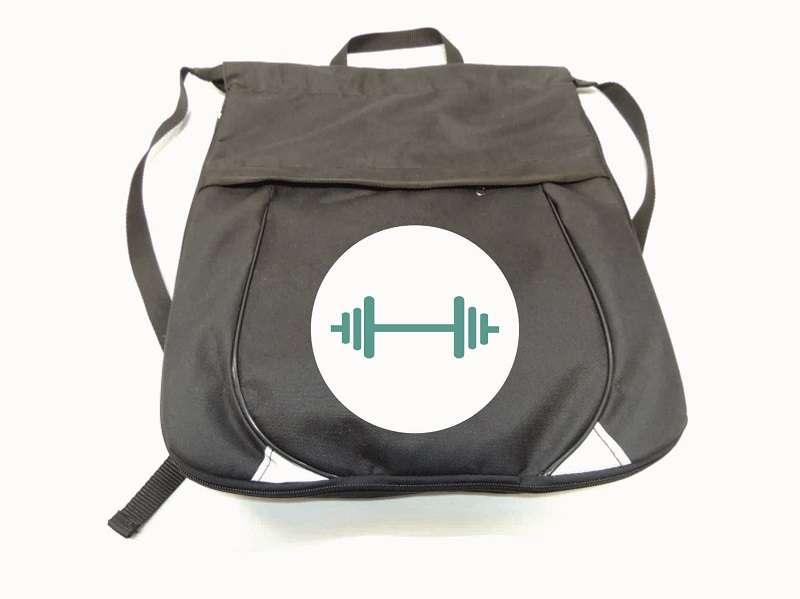 Рюкзак для тяжёлой атлетики чёрный
