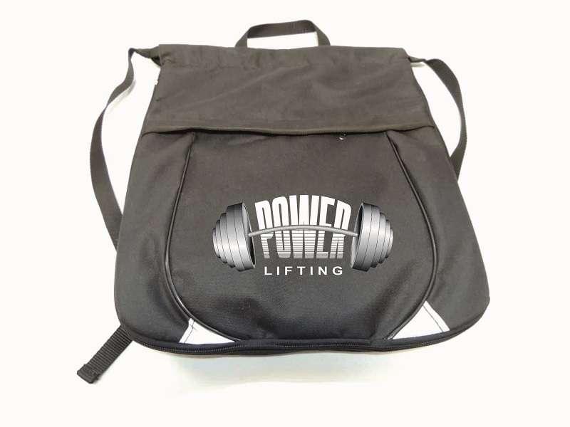 Рюкзак для пауэрлифтинга чёрный