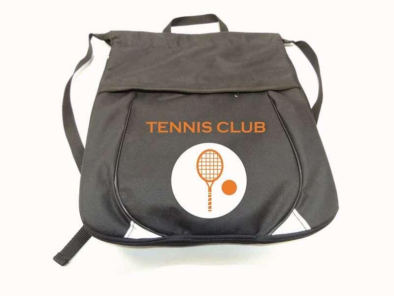 Рюкзак для тенниса чёрный