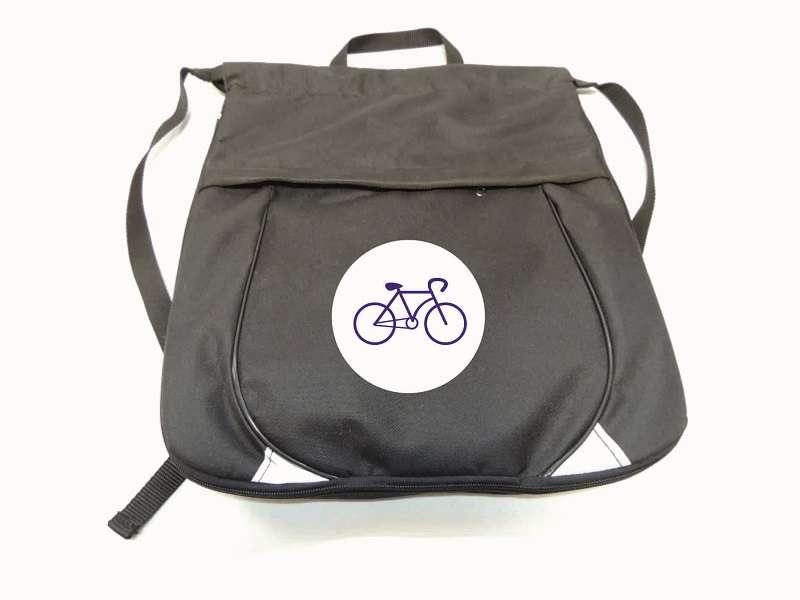 Рюкзак для велоспорта чёрный